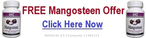 New Clients of Natural Home Cures: FREE MANGOSTEEN